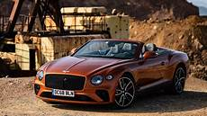 2019 bentley continental gt convertible review the 207 mph drop top gran turismo the