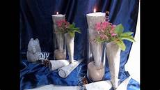 Vasen Selber Machen - diy beton fackeln kerzen t 252 llen vase kinderleicht