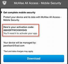 mcafee multi access installing and uninstalling aol help