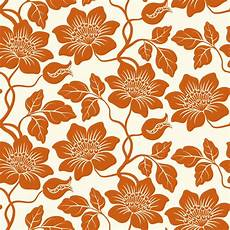 Orange Wallpaper Pattern