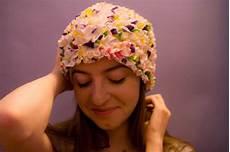 bonnet de bain vintage a fleur