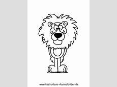 Ausmalbilder Löwe   Tiere zum ausmalen   Malvorlagen Loewen