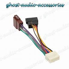 Clarion 16 Pin Car Stereo Radio Iso Wiring Harness