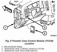 Where Is The Transfer Module On 2004 Gmc