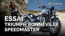 Essai Triumph Bonneville Speedmaster Mod 232 Le 2018