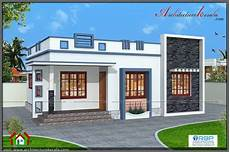 700 Square Three Bedroom House Plan And Elevation