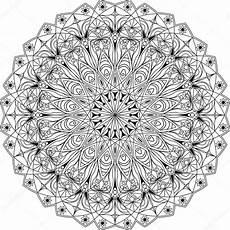 Malvorlagen Erwachsene Mandala Kreis Mandala Erwachsene Malvorlagen Stockvektor