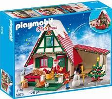 Playmobil Ausmalbild Weihnachten Playmobil Weihnachten Zuhause Beim Weihnachtsmann Ab