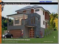 sloping house plans hillside house floor plans for sloping land 50 homes