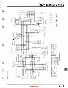 87 honda atv 250 wiring schematic 1986 trx 350d no spark honda atv forum