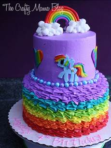 my pony cakes part one rainbow dash crafty