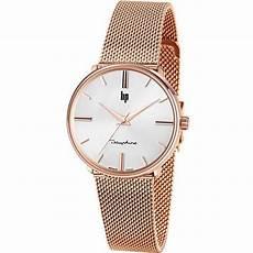 montre lip dauphine 671321 montre acier or femme