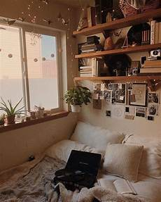 Aesthetic Bedroom Decor Ideas by Neutral Various Textured Bedding Photographs And Shelves