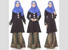 Baju Kurung Moden Kain Songket Fesyen Trend Terkini 2016