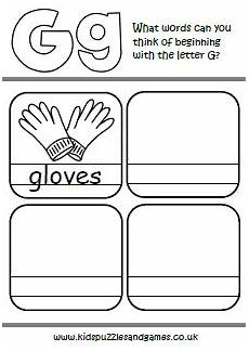 letter g matching worksheets 24631 letter g puzzles and
