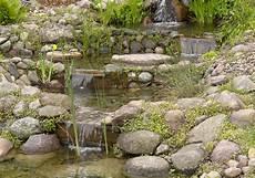 Selbst Gebaut Bachlauf Im Eigenen Garten Schritt F 252 R