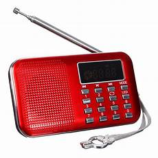 Mini Portable Digital Radio Speaker Card mini portable lcd digital fm radio speaker usb micro sd tf