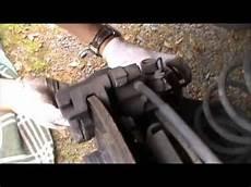 plaquettes de frein arrière remplacement des plaquettes de freins arri 232 re avec frein