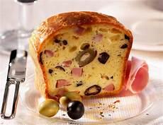 recette de cake au jambon et aux olives