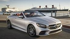2018 Mercedes S 560 Cabriolet Open Air Driving