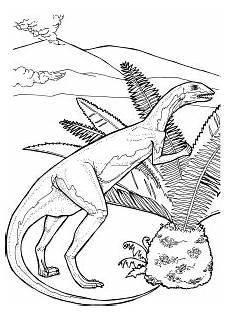 dino mit vulkan ausmalbild malvorlage tiere