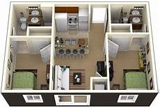 3 ideas for a 2 bedroom home includes floor one bedroom house plans 3d search small house