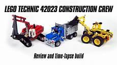 Lego Technic Build by Lego Technic 42023 Construction Crew Build Review