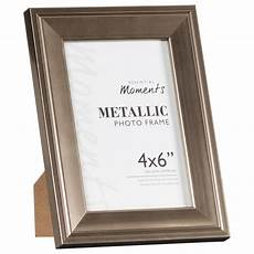 metallic photo frames 4 x 6 quot home gifts picture frames