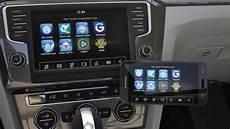 Vw App Connect Iphone - car net app connect bringt das smartphone ins auto