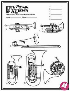 coloring pages instrument families of the orchestra