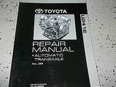 auto repair manual online 1995 toyota mr2 regenerative braking 2003 toyota camry automatic transaxle service shop repair manual u241e oem 01 ebay