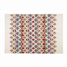 Tapis Imprim 233 Ethnique Multicolore 140x200cm Pondichery