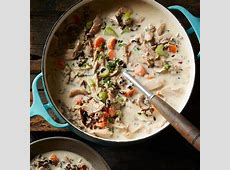 cream of turkey   wild rice soup with weight watchers points_image
