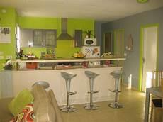 Decoration Salon Vert Anis Et Gris