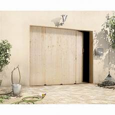 Porte De Garage Coulissante Manuelle Primo H 200 X L 240