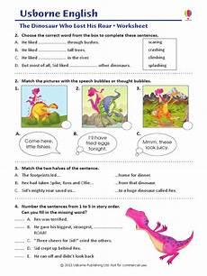 dinosaur roar worksheets 15365 dinosaur who lost his roar worksheet