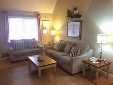 one or two bedroom suites in wells maine at elmwood