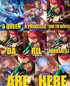 Gambar Meme Lucu Mobile Legends Dp Bbm Kocak