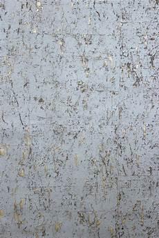 vliestapete kork beton optik grau gold metallic schimmernd