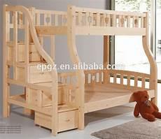Doppel Langlebig Modernen Erwachsene Massivholz Hochbett