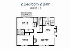 2 br 2 ba house plans seramonte two bedroom two bathroom apartment 936 sq