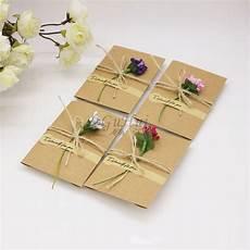 diy the wedding invitation envelopes custom personalized blessings greeting card envelope kraft