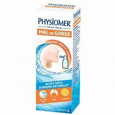 sanofi physiomer mal de gorge 20ml parapharmacie