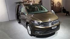 2017 Volkswagen Caddy Family Bluemotion Exterior And