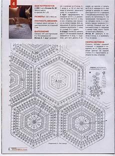 copriletti uncinetto schemi copriletto uncinetto moduli esagonali fiorellini 2