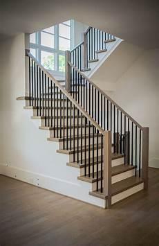 metal baluster system in 2020 stair railing design