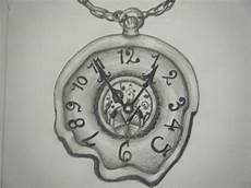 taschenuhr skizze melty pocketwatch by kornwolf on deviantart