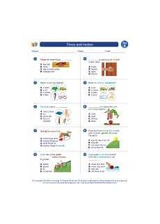science worksheets on and motion 12334 and motion science worksheets and study guides grade virginia standards