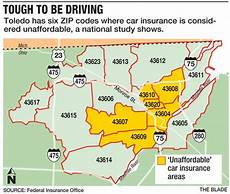 6 Areas Pay High Auto Insurance The Blade