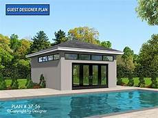 garage pool house plans pool house plan 37 56 garrell associates inc